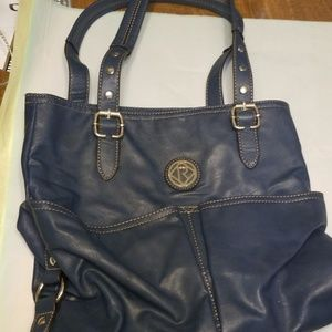 Large RELIC Pocketbook Navy Blue